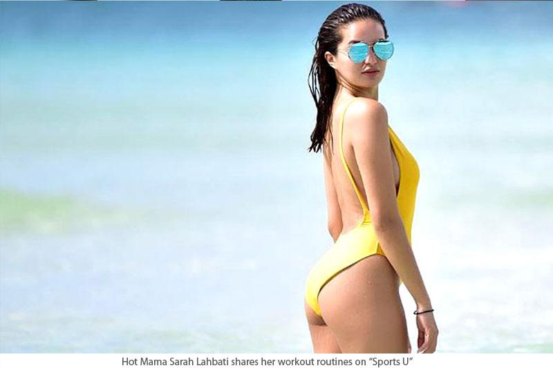 Sikreto sa pagiging Hot Mama ni Sarah Lahbati ibinunyag sa Sports U  1