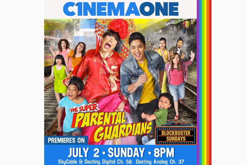 The Super Parental Guardians premieres on Cinema One 1