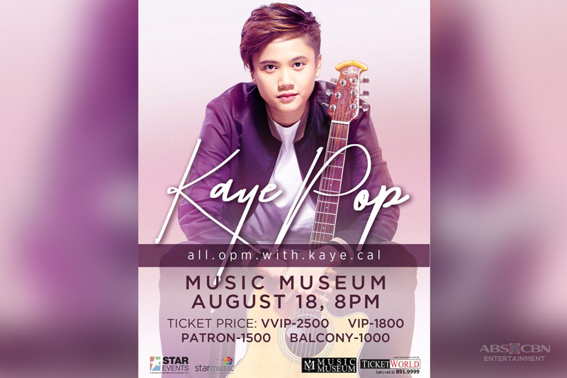 All OPM for Kaye Cal s first major concert 1