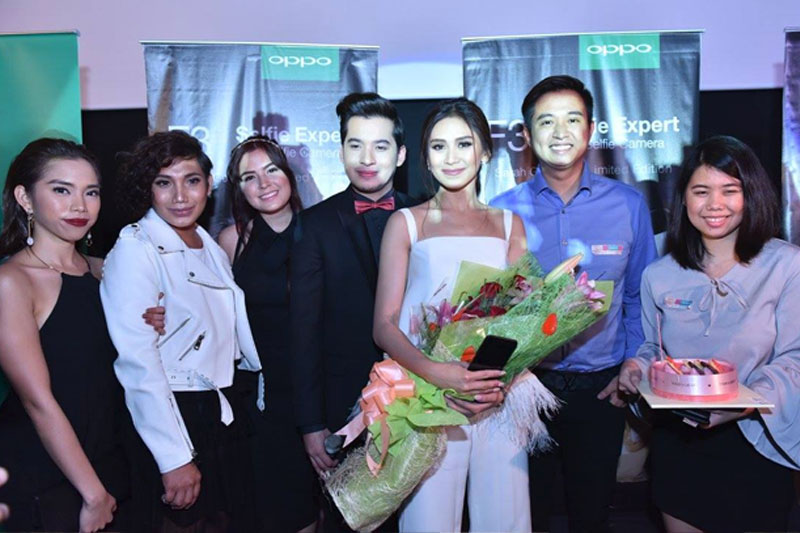Sarah Geronimo marks 3rd year as OPPO s ambassador via special movie screening and with new F3 limited edition phone 1