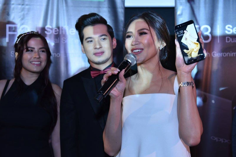 Sarah Geronimo marks 3rd year as OPPO s ambassador via special movie screening and with new F3 limited edition phone 2