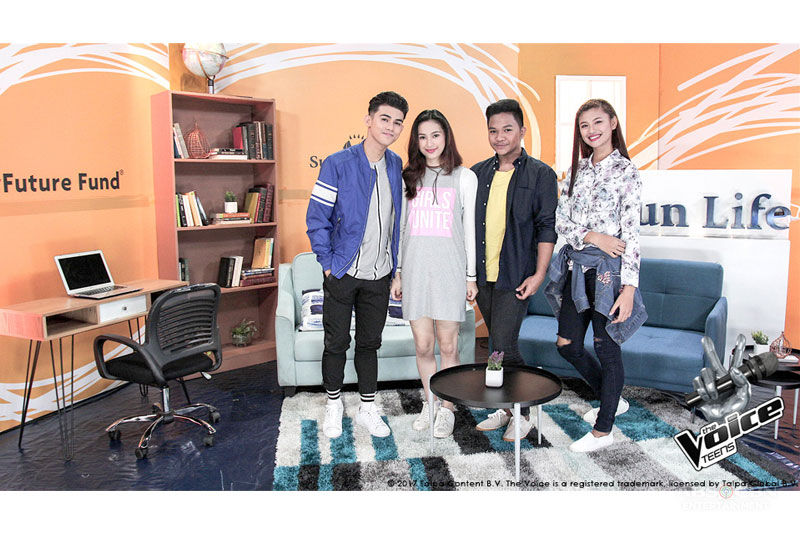 Behind the Voices An Interview with The Voice Teens Jeremy Glinoga and Isabela Vinzon 4