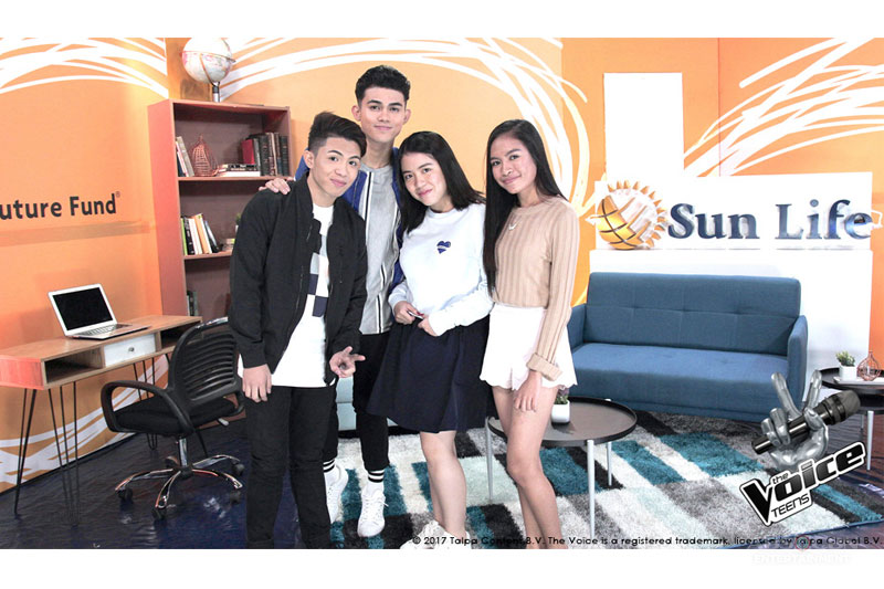Behind the Voices An Interview with The Voice Teens Mica Becerro and Jona Soquite  3