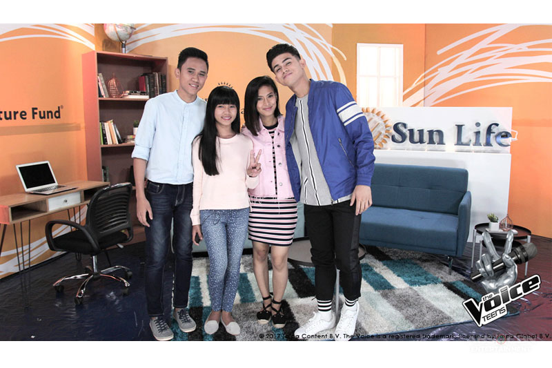 Behind the Voices An Interview with The Voice Teens Mica Becerro and Jona Soquite  4