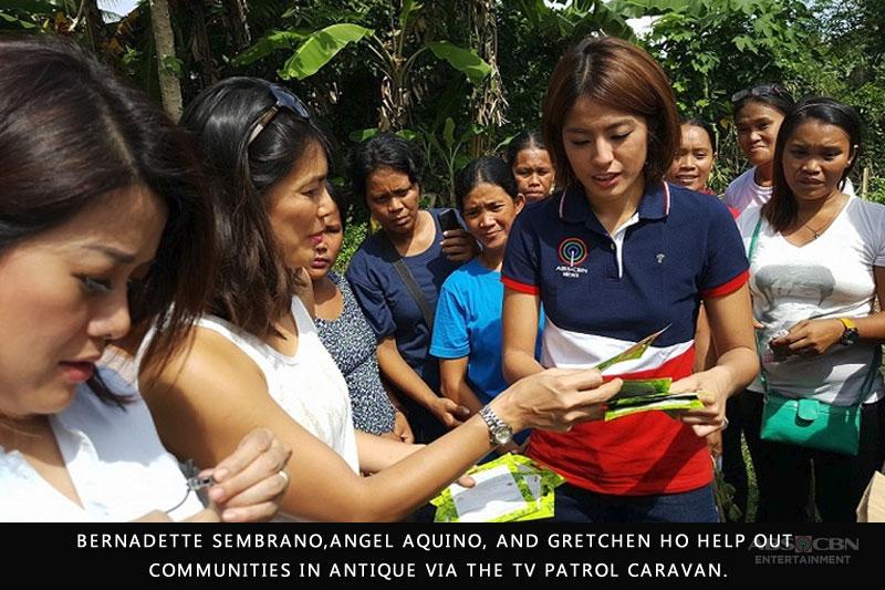 Angel Aquino and Gretchen Ho join Bernadette Sembrano in TV Patrol s Public Service Caravan 1