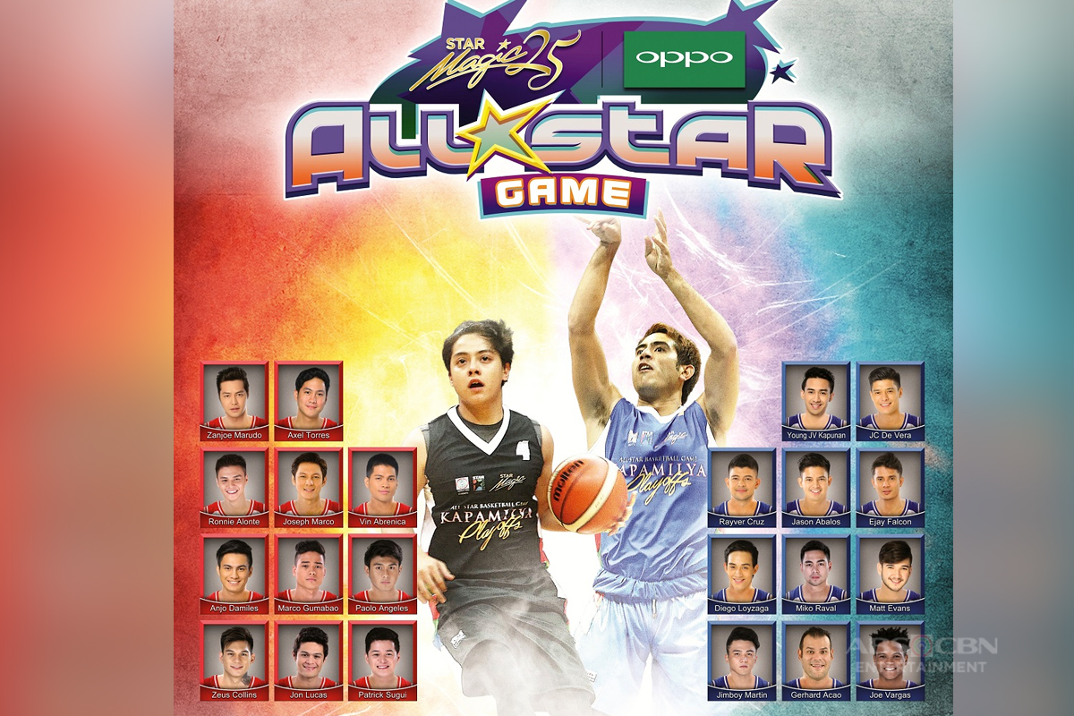 Kapamilya heartthrobs ready to clash in Star Magic Oppo All-Star game