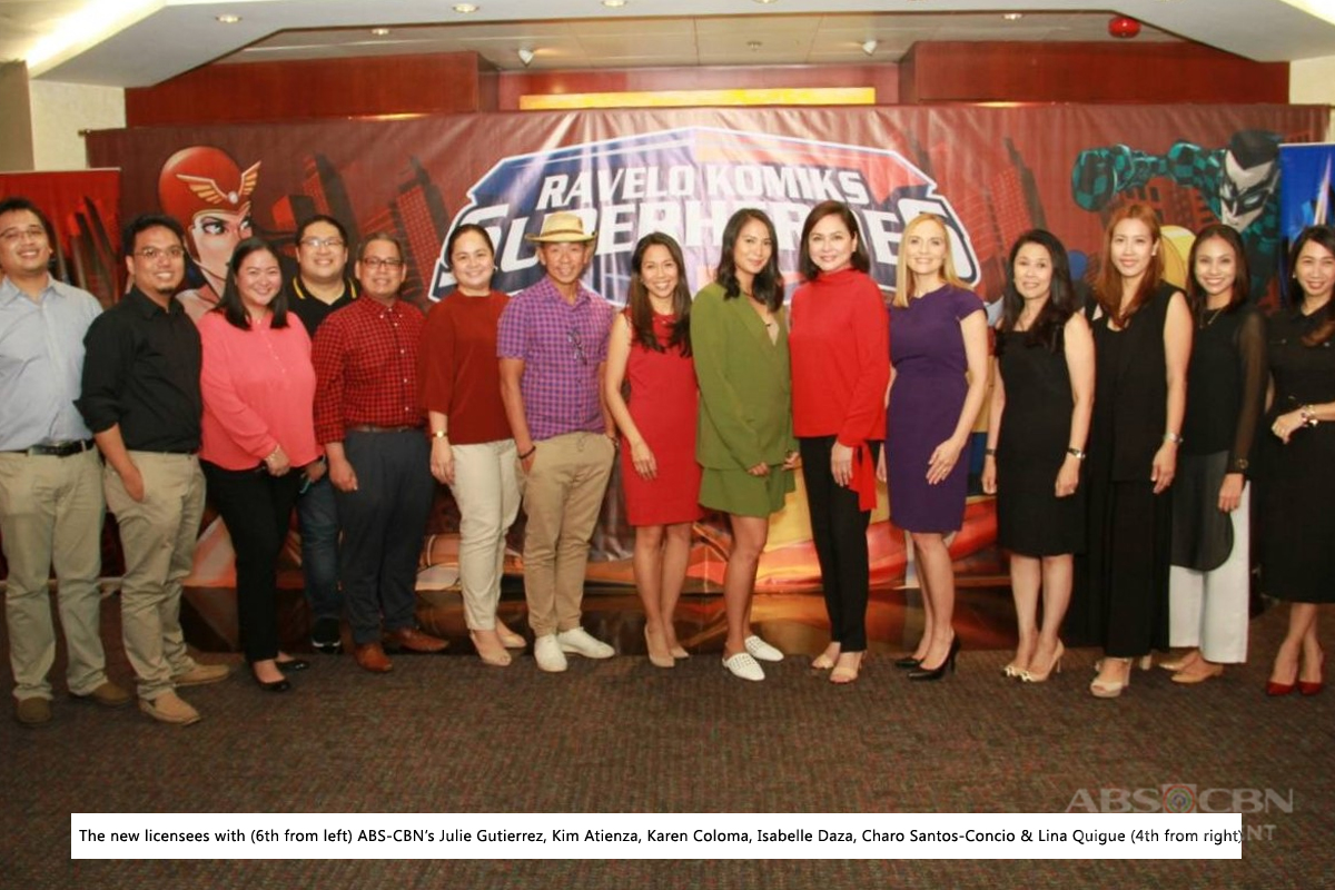 ABS CBN seals Ravelo Komiks Superheroes deal with partner licensees 1
