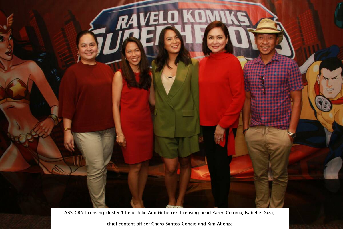 ABS CBN seals Ravelo Komiks Superheroes deal with partner licensees 6