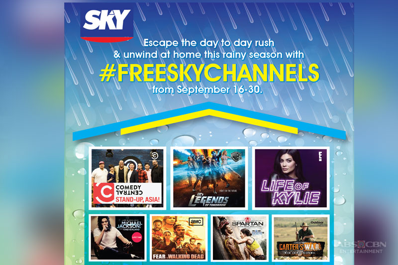 Access the best cable entertainment for free this September on Sky 1