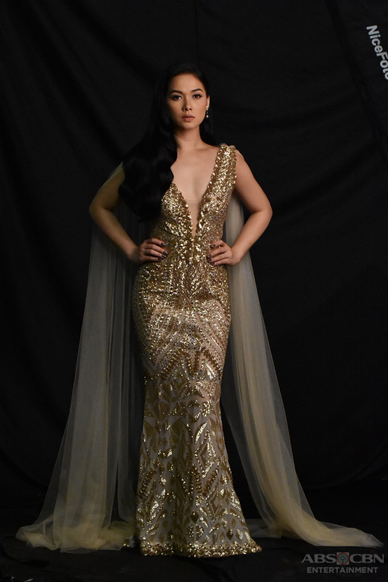 IN PHOTOS: Maja Salvador is the lady in GOLD!