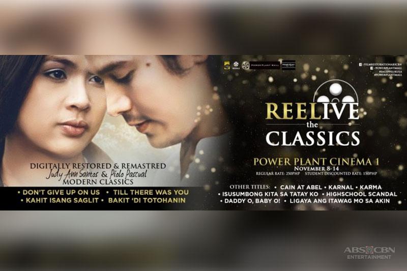 Restored movies nina Juday at Piolo mapapanood sa REELive the Classics  1