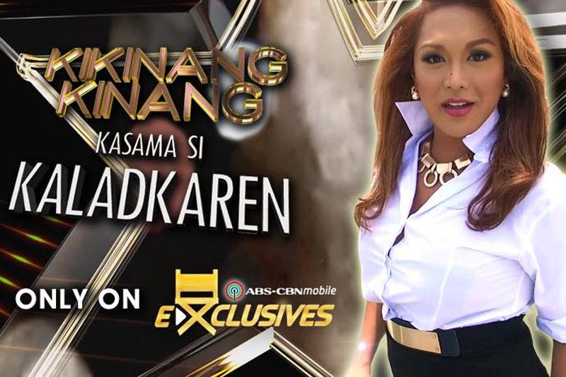 Kaladkaren dares celebrities in digital show on ABSCBNmobile com 1