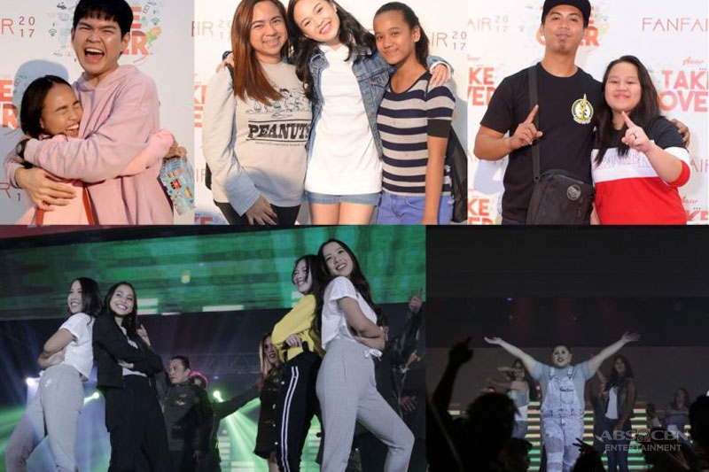 Top online stars get up close and personal with thousands of fans in ABS CBN s Adobers TakeOver Fanfair 1