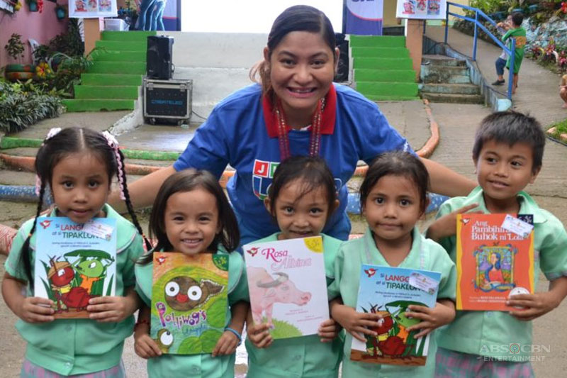 SKY s BOOKas Palad shares the gift of reading to public school children nationwide 2