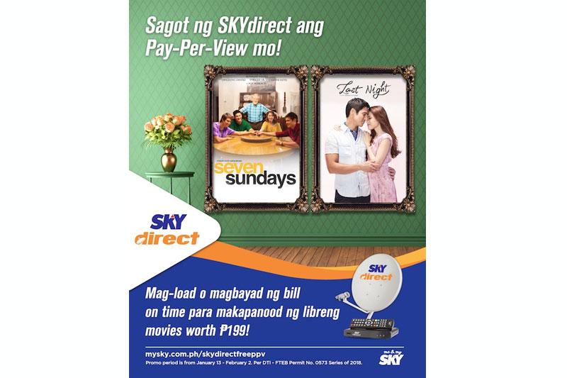 SKYdirect may premyo para sa mga subscriber 1
