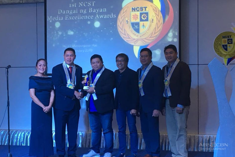 ABS CBN triumphs at 1st Dangal ng Bayan Media Excellence Awards 1