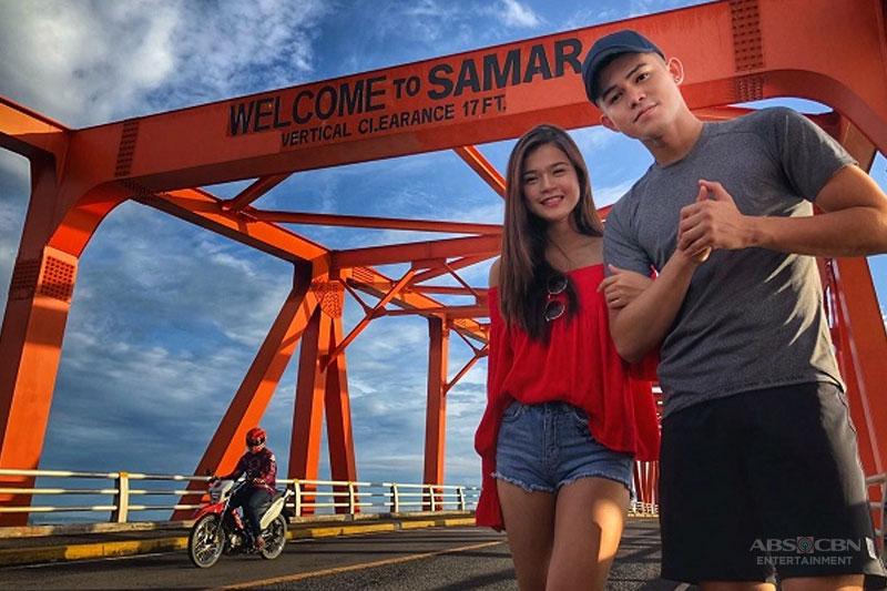 MarNigo tour Samar with Gina Lopez in G Diaries season 2 premiere 1