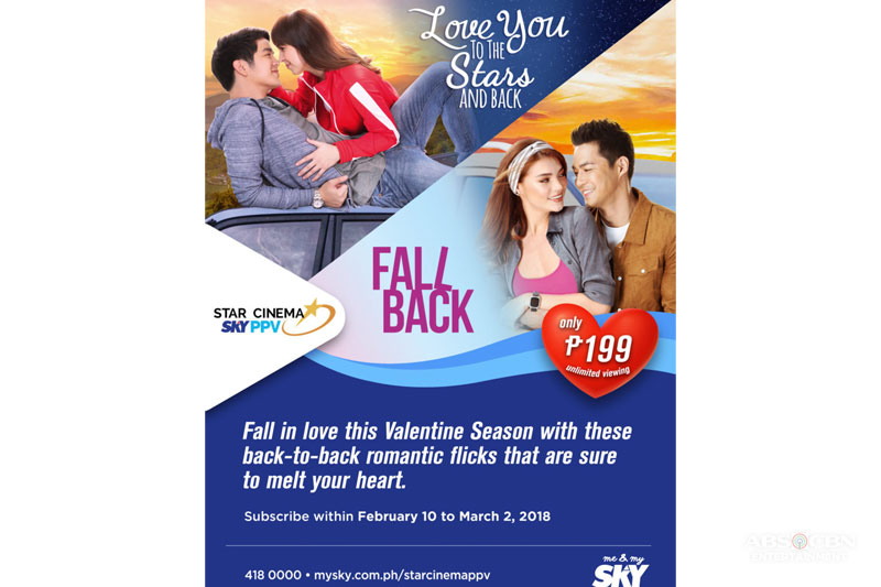 Love You To The Stars And Back on Star Cinema on SKY PPV this Valentine s 1