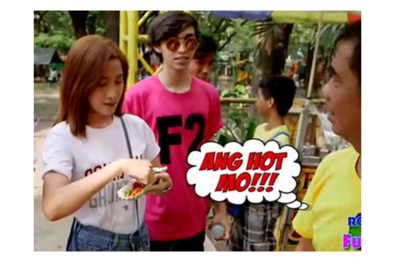 Watch what happens when Mr Fu challenges strangers to win P1 000 2