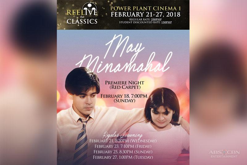 May Minamahal bibida sa 4th Reelive the Classics ng ABS CBN at Powerplant Cinemas 1