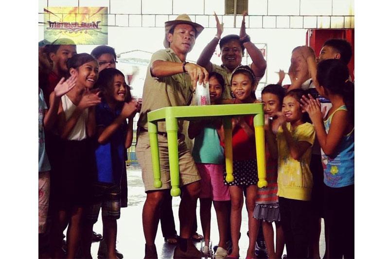 Kuya Kim Goes adventure mode as Matanglawin turns 10 7