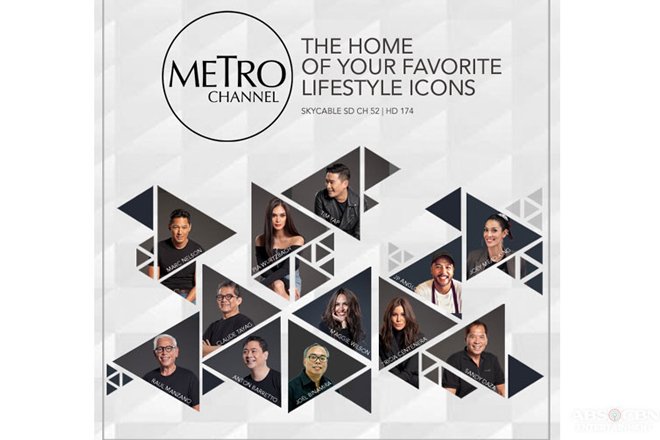 Your favorite lifestyle icons to host exciting shows in new Metro Channel 1