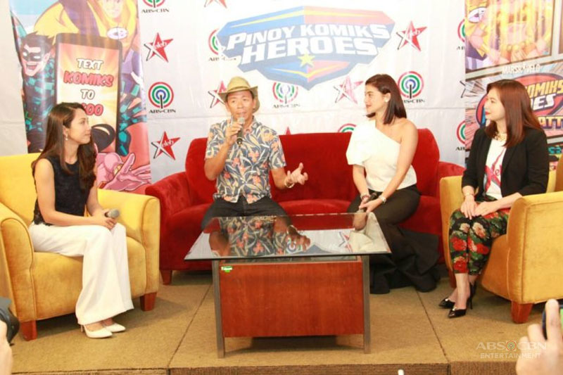 ABS CBN Xeleb introduce Pinoy Komiks Heroes Battle app 3