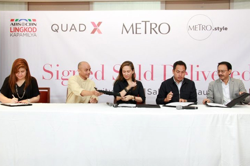 Metro Style QuadX launch Signed Sold Delivered for the benefit of ABS CBN Lingkod Kapamilya foundation 2
