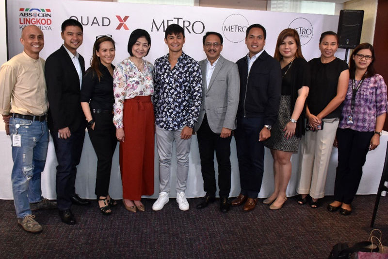 Matteo Guidicelli Piolo Pascual Jodi Sta Maria and Other Kapamilya Stars Teaming Up for One Big Inspiring Project  2