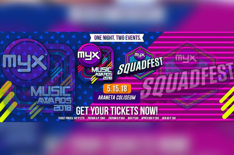 MYX Music Awards celebrates 13th year at the Big Dome 1