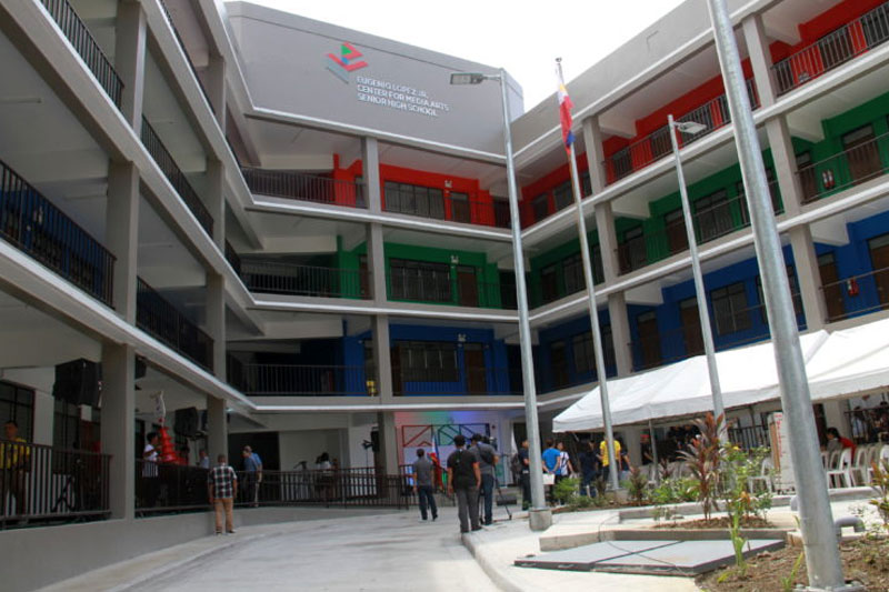 Eugenio Lopez Jr Center for Media Studies now an independent senior high school 1