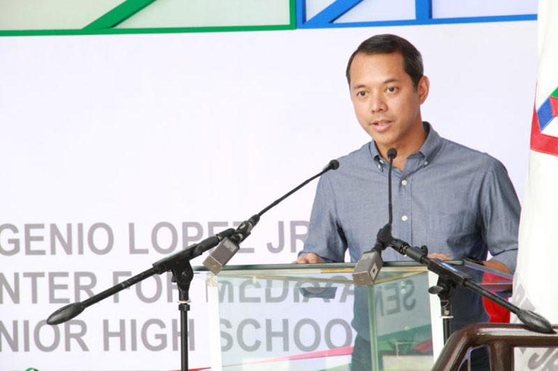 Eugenio Lopez Jr Center for Media Studies now an independent senior high school 2