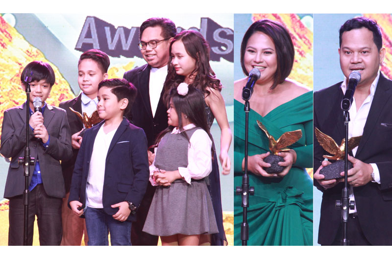 ABS CBN wins Best TV Station dominates Golden Dove Awards 1