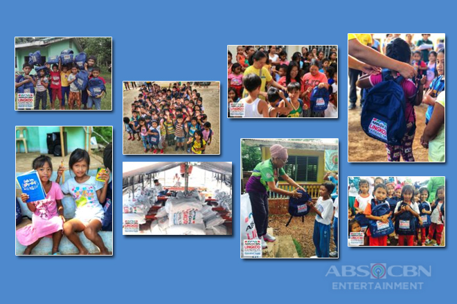 "Thousands of kids get new school bags through Operation Sagip's ""Gusto kong Mag-aral"" project"