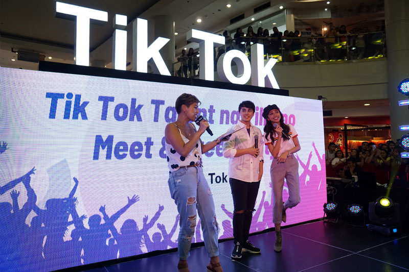 MayWard graces first ever Tik Tok Meet and Greet Party in PHL 1