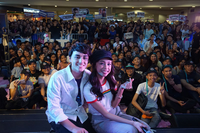MayWard graces first ever Tik Tok Meet and Greet Party in PHL 2