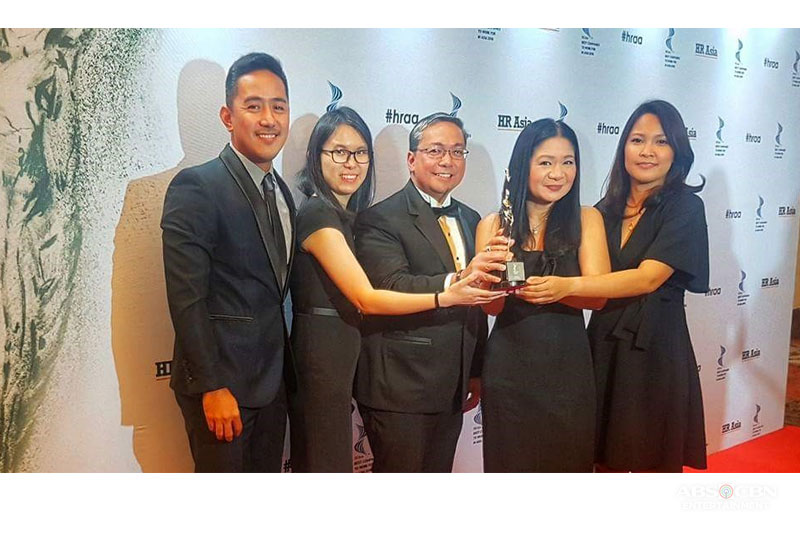 ABS CBN named one of the Best Companies to Work for in Asia by HR Asia 1