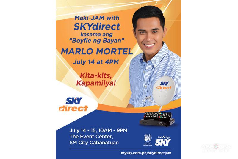 Makisaya kasama ang Boyfie Ng Bayan Marlo Mortel sa SKYdirect Jam sa SM City Cabanatuan 1
