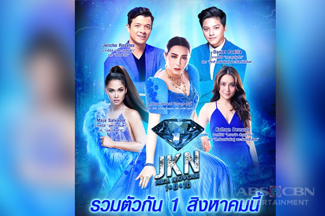 ABS-CBN stars lead showcase of Filipino content in Thailand's largest media event