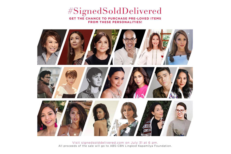 Grab your fave stars wardrobe picks in online charity sale this July 31 1