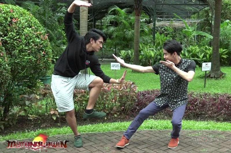 Bagani s Makisig and Zaijan join the fun in Matanglawin  1