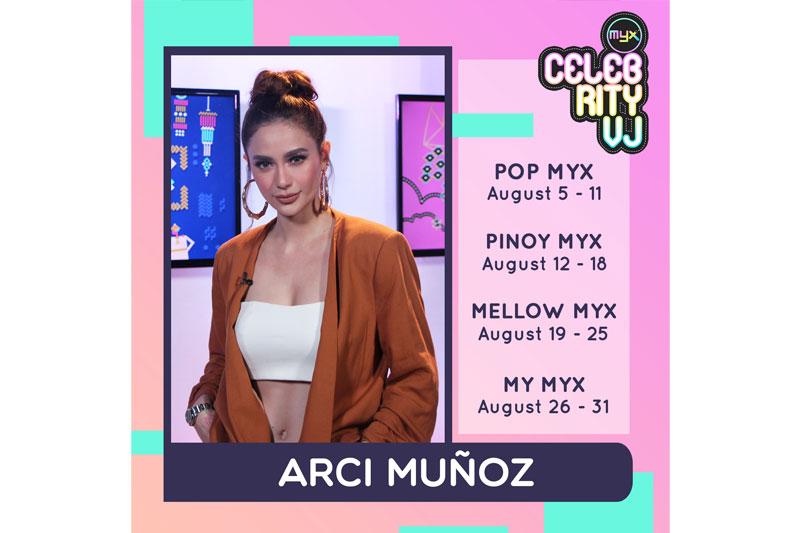 Celebrity VJ Arci rocks MYX this August 1