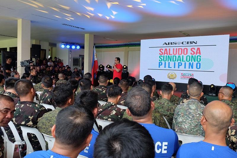 Hundreds of soldiers honored in Saludo sa Sundalong Pilipino in Tarlac 1