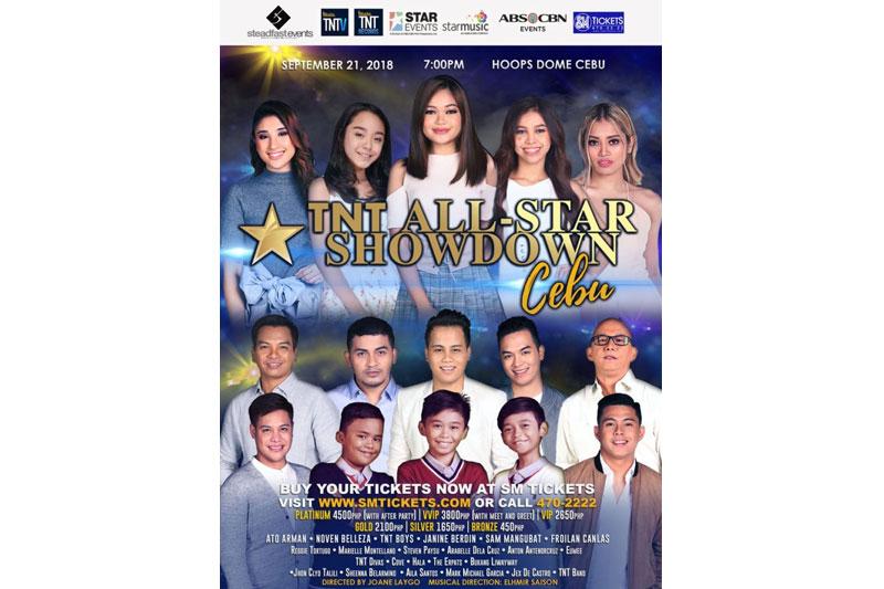 TNT singers bring historic all star showdown to Cebu this September 1