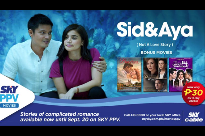 Anne-Dingdong's blockbuster 'Sid and Aya' airs on SKY Pay Per View