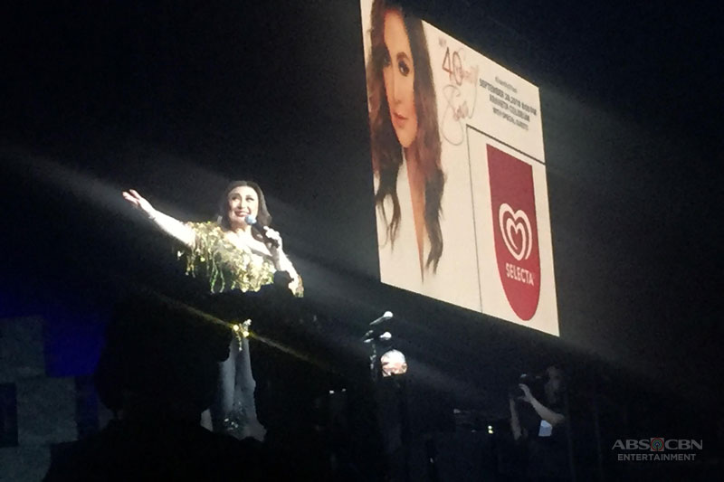 Sharon Cuneta takes a trip down memory lane with Glory of Love performance at her concert  1