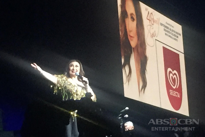 Sharon Cuneta takes a trip down memory lane with 'Glory of Love' performance at her concert
