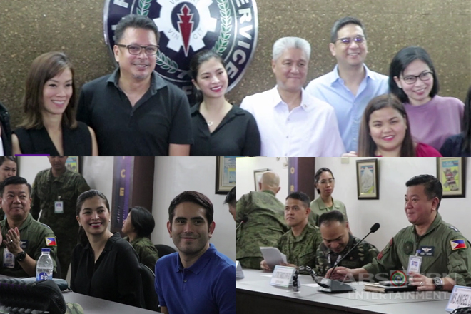 WATCH: AFP and ABS-CBN sign Memorandum Of Understanding for The General's Daughter and Take Life