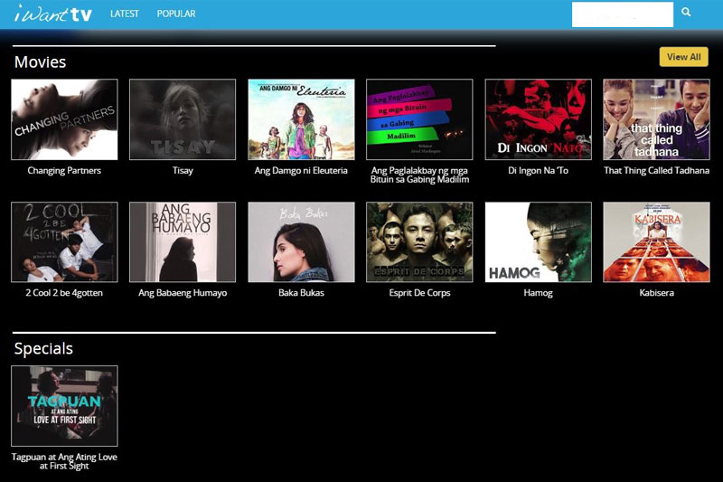 Cinema One Originals releases 18 of its best movies on iWant TV 1