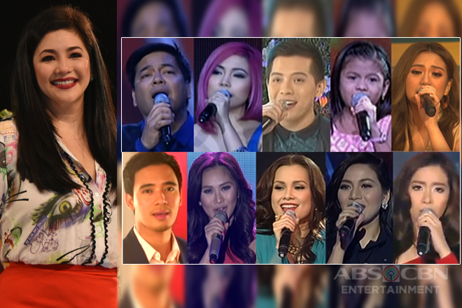 Kapamilya artists' mind-blowing renditions of Regine songs and covers